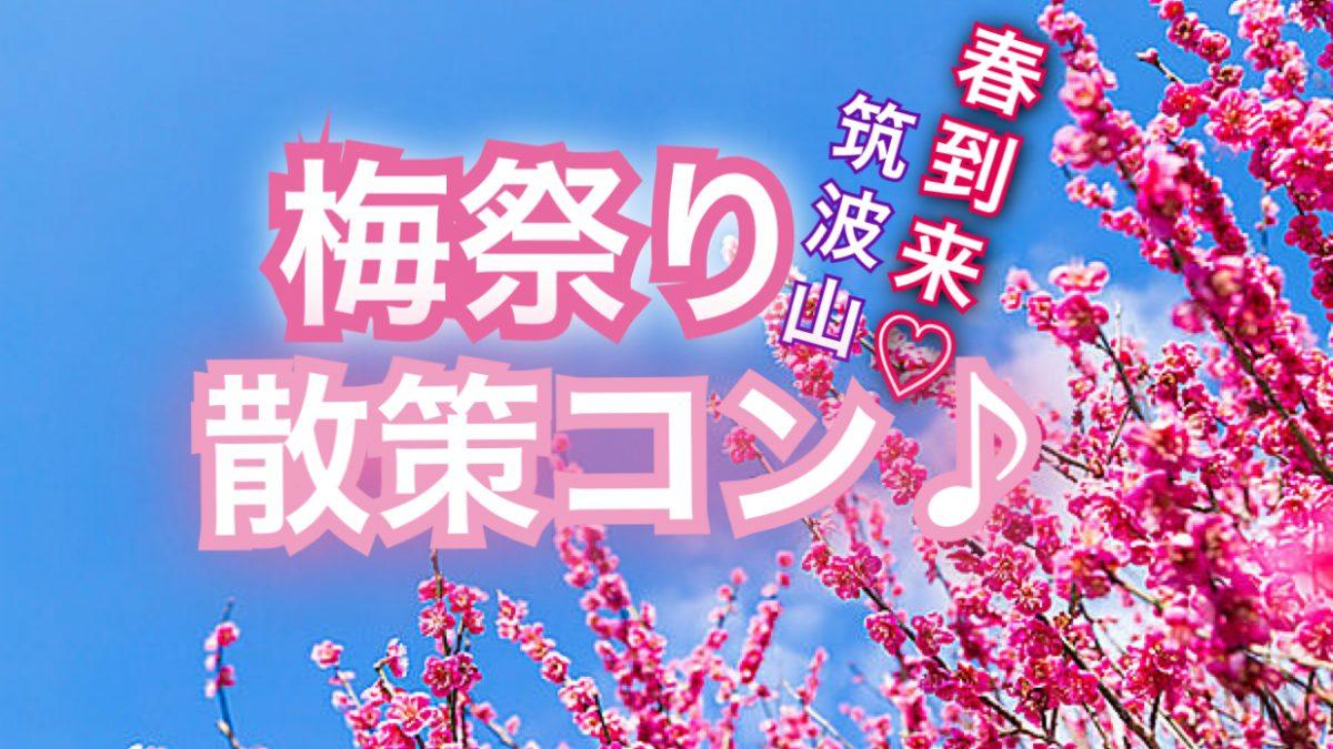 2/24筑波山♡梅まつり散策コン♪