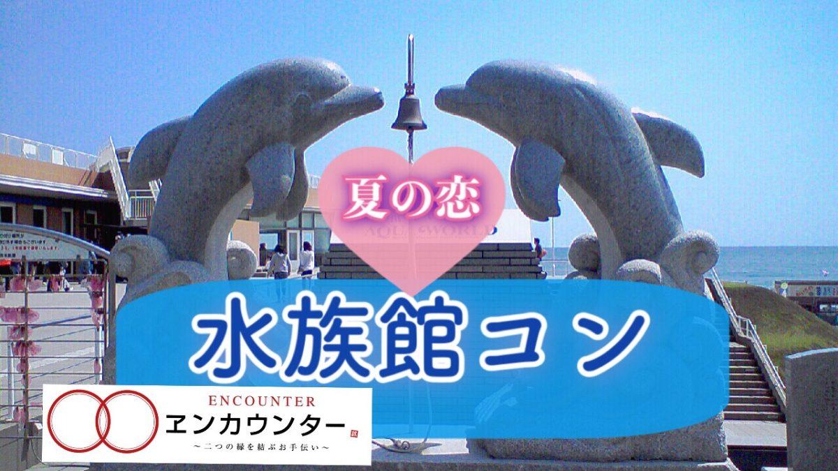 7/20(日)女性2名急募‼️サマーフェス♪水族館コン♡